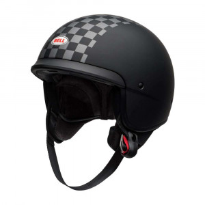 Bell Scout Air Helmet - Check Matte Black / White