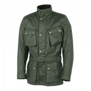 Belstaff Trialmaster Classic Tourist Trophy Jacket - British Racing Green