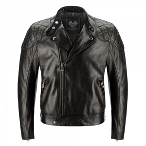 Belstaff Ivy Leather Jacket - Black