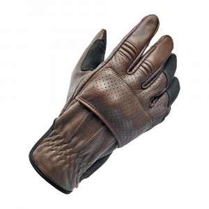 Biltwell Borrego Gloves - Chocolate / Black