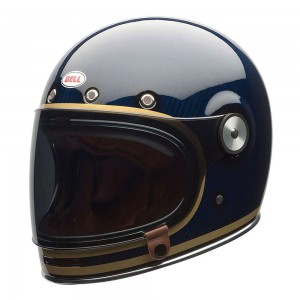 Bell Bullitt Helmet - Carbon Candy Blue Ltd Edition