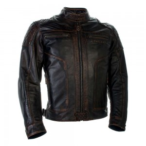 Richa Detroit Leather Jacket - Brown