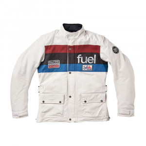Fuel Motorcycles Rally Raid Jacket - White