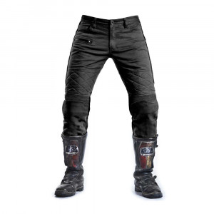 Fuel Motorcycles Sergeant Trousers - Black