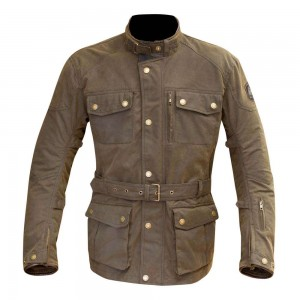 Merlin Atlow Wax Jacket - Olive