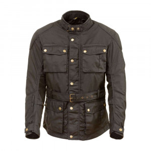 Merlin Kurkbury Wax Jacket - Black