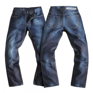 Rokker Revolution Waterproof Jeans - Stonewash Blue