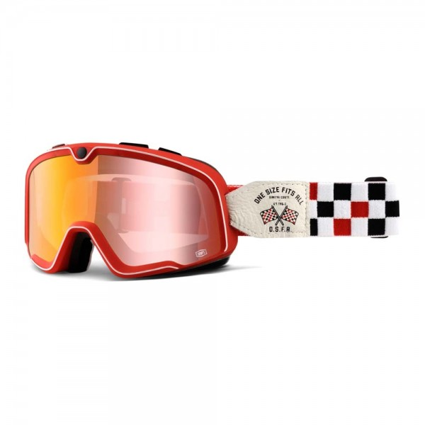 100% Barstow Classic Motorcycle Goggles - OSFA 2