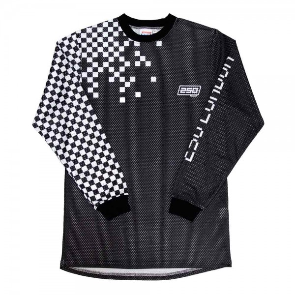 250 London Chequer Jersey - Black / White