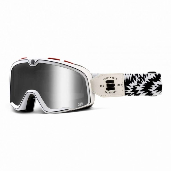 100% Barstow Classic Motorcycle Goggles - Death Spray