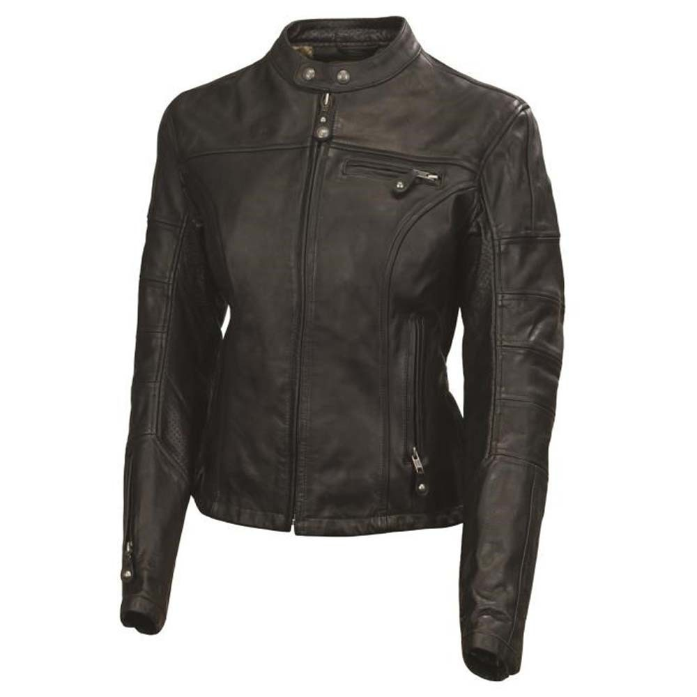 Roland Sands Maven Ladies Leather Jacket - Black