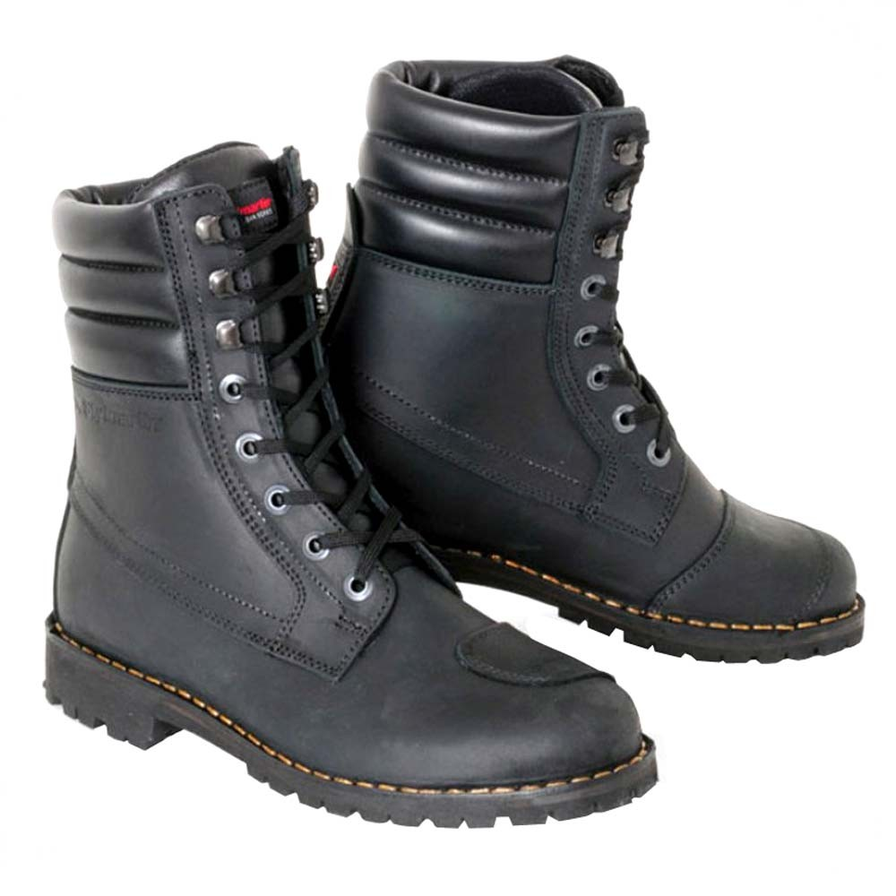 stylmartin indian motorcycle boots - black