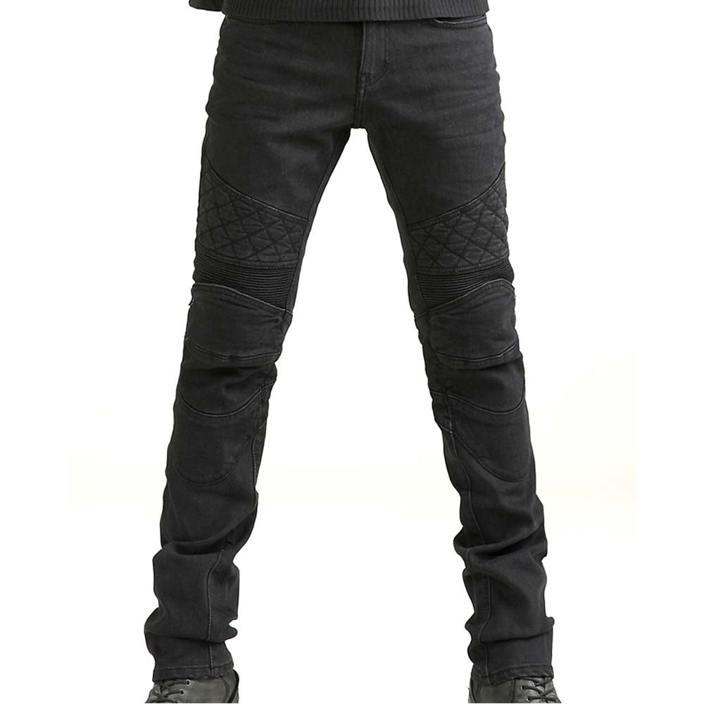 ton up motorcycle jeans - black