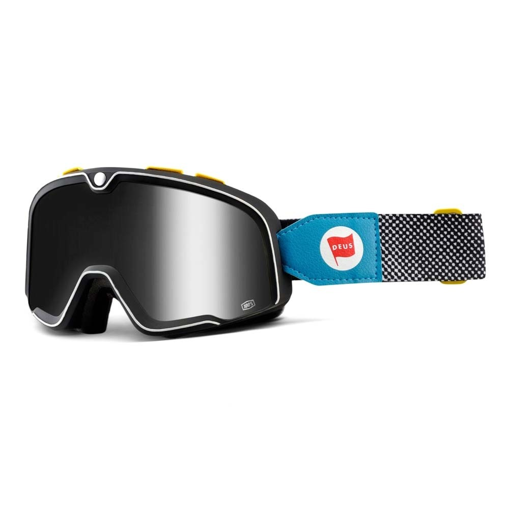 100% Barstow Classic Motorcycle Goggles - Deus 17