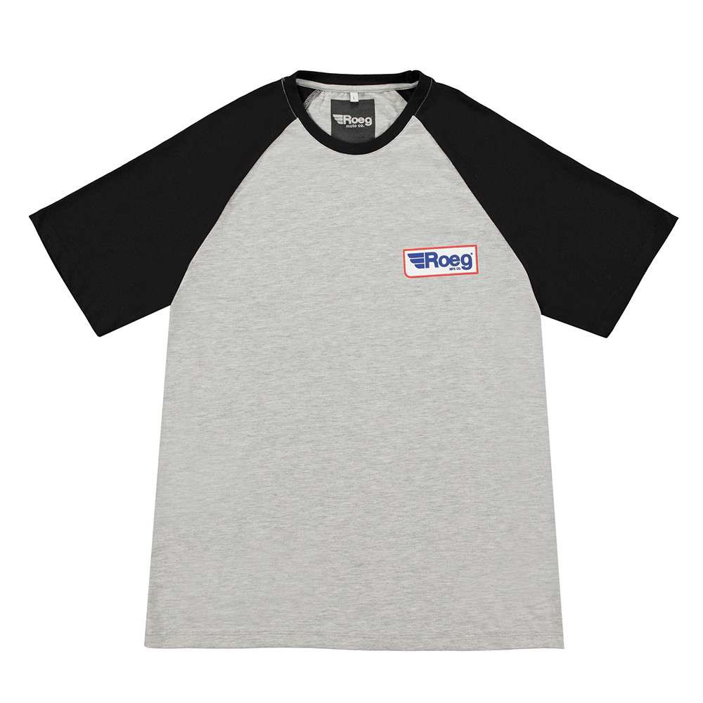 Roeg Frank T Shirt - Grey / Black
