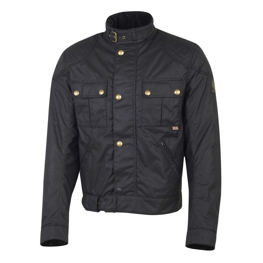 Belstaff Mojave Brooklands Wax Jacket - Black