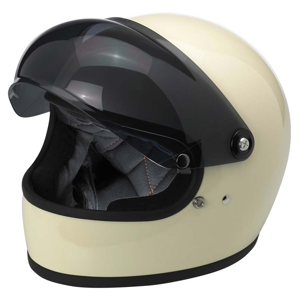Biltwell Gringo S Anti-Fog Bubble Visor - Smoke