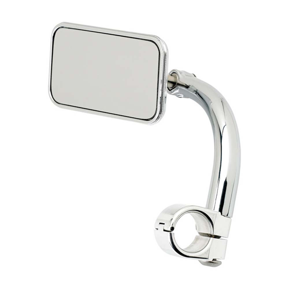 Biltwell Rectangle Clamp-On Utility Mirror 1