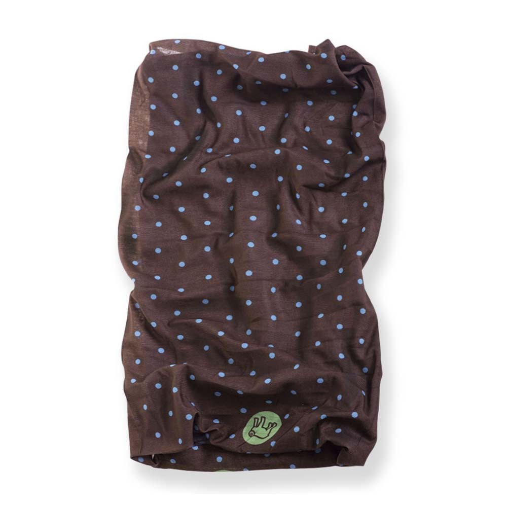 Holy Freedom Tunnel Motorcycle Scarf - Pois Brown