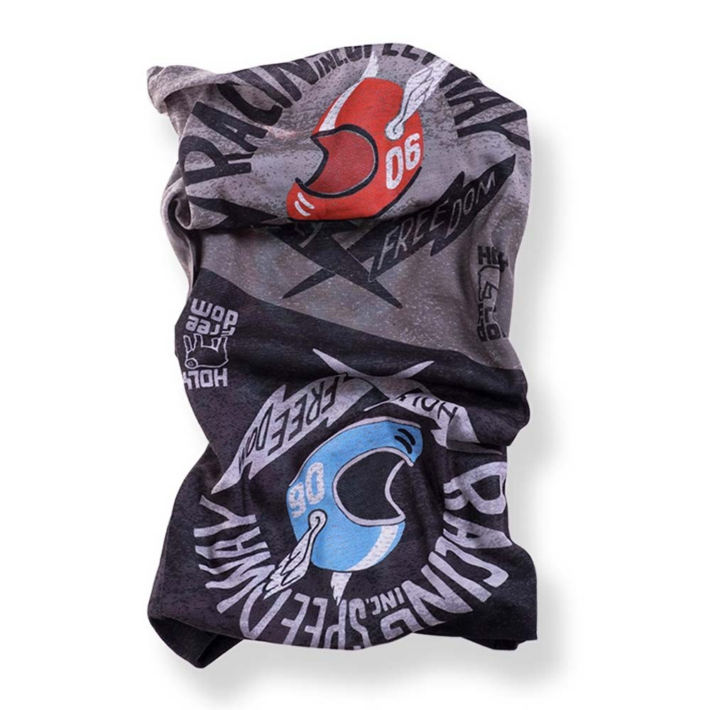 Holy Freedom Tunnel Motorcycle Scarf - Poker