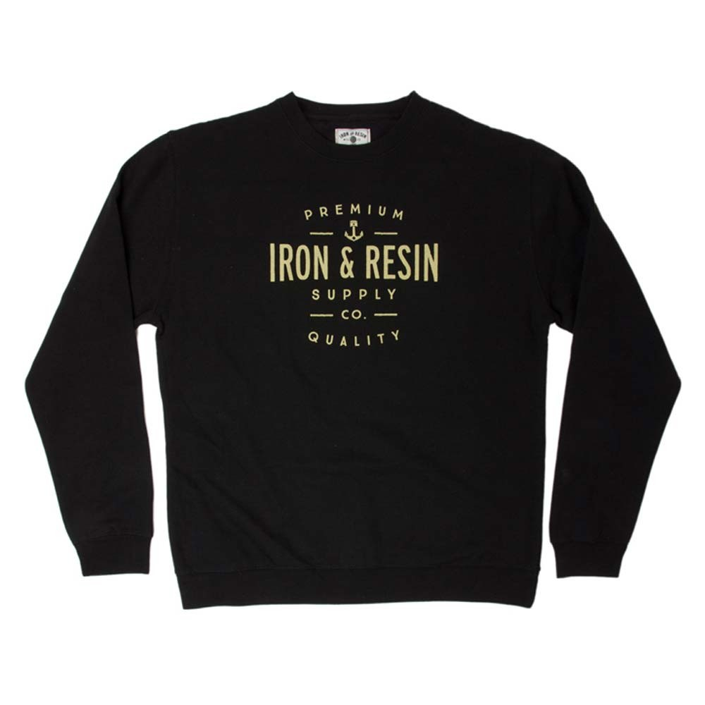 Iron and Resin Portsmith Crewneck - Black