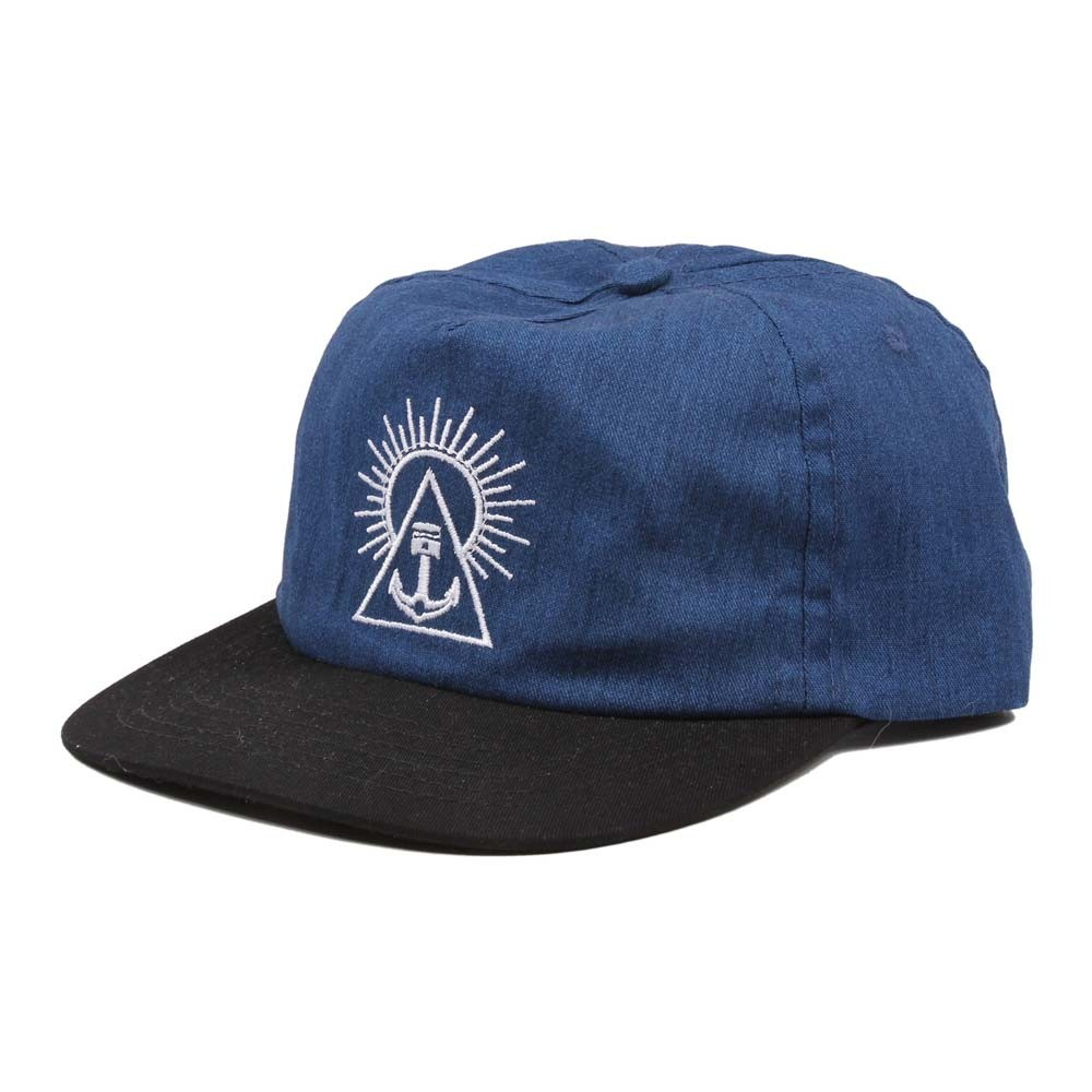 Iron and Resin Sol Hat - Blue