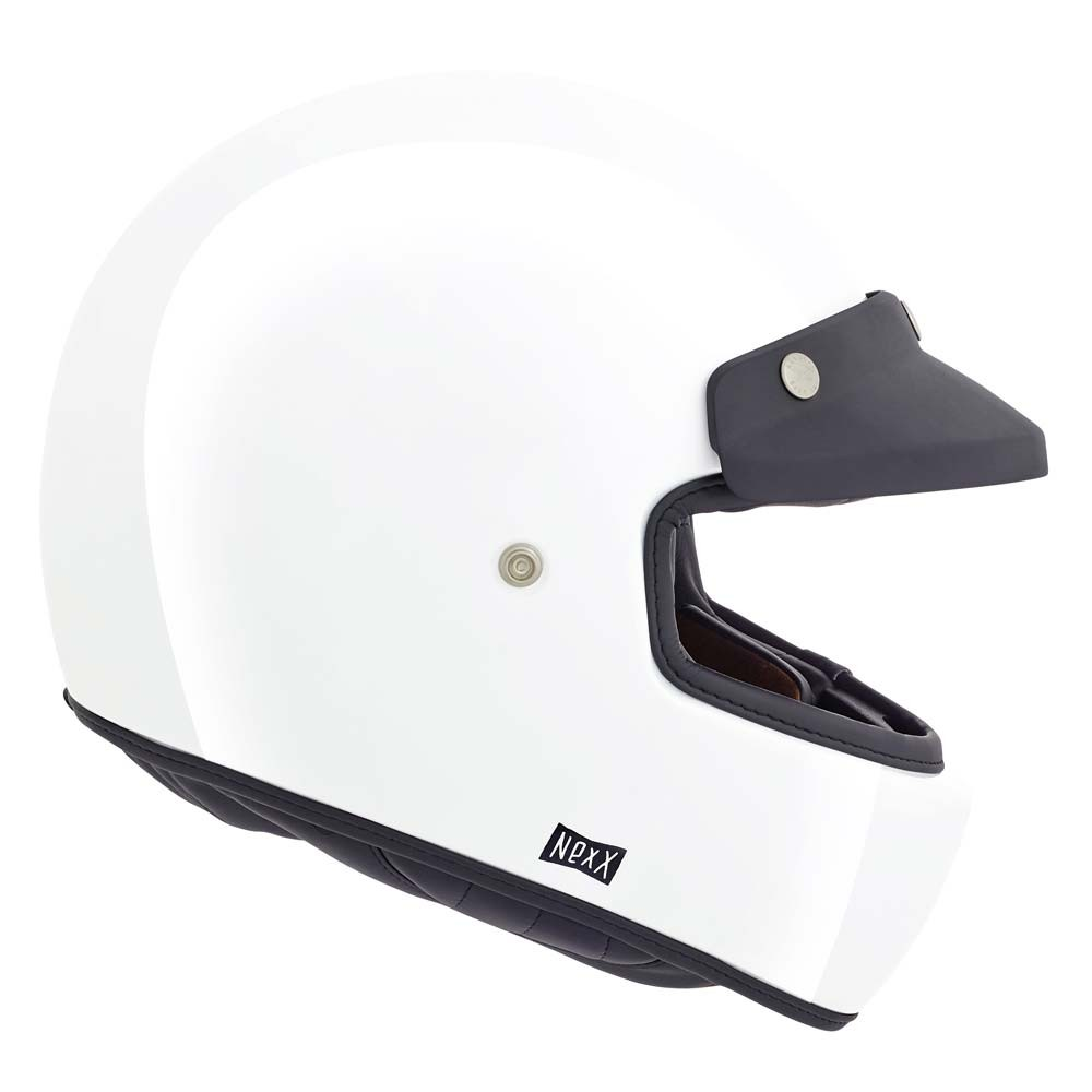 Nexx XG100 Purist Helmet - White Full