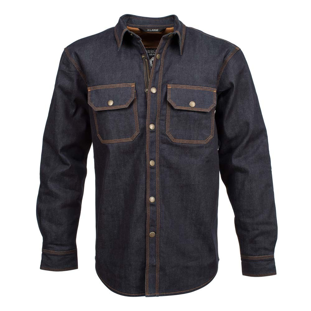 Resurgence Gear Denim Riding Shirt - Blue