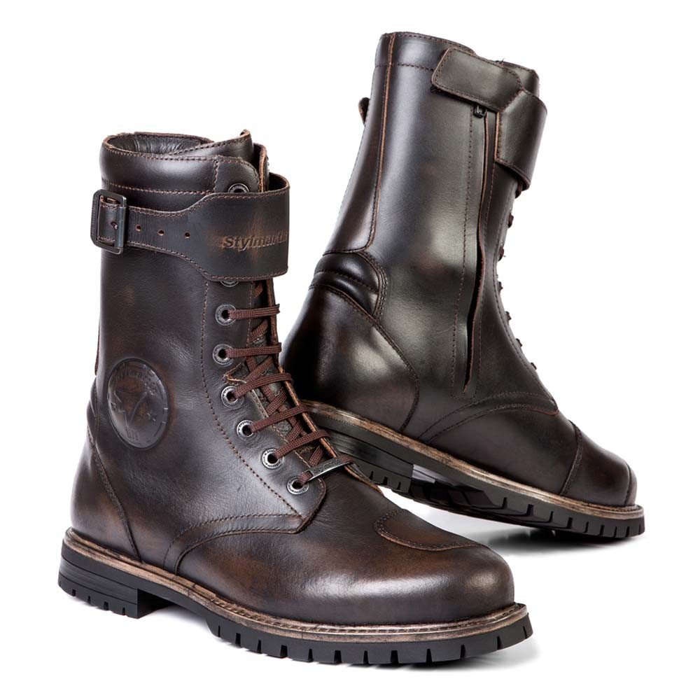 Stylmartin Rocket Motorcycle Boots - Brown
