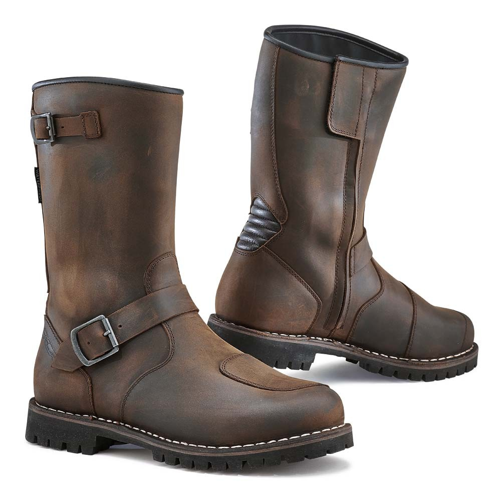 TCX Fuel Waterproof Riding Boots - Vintage Brown