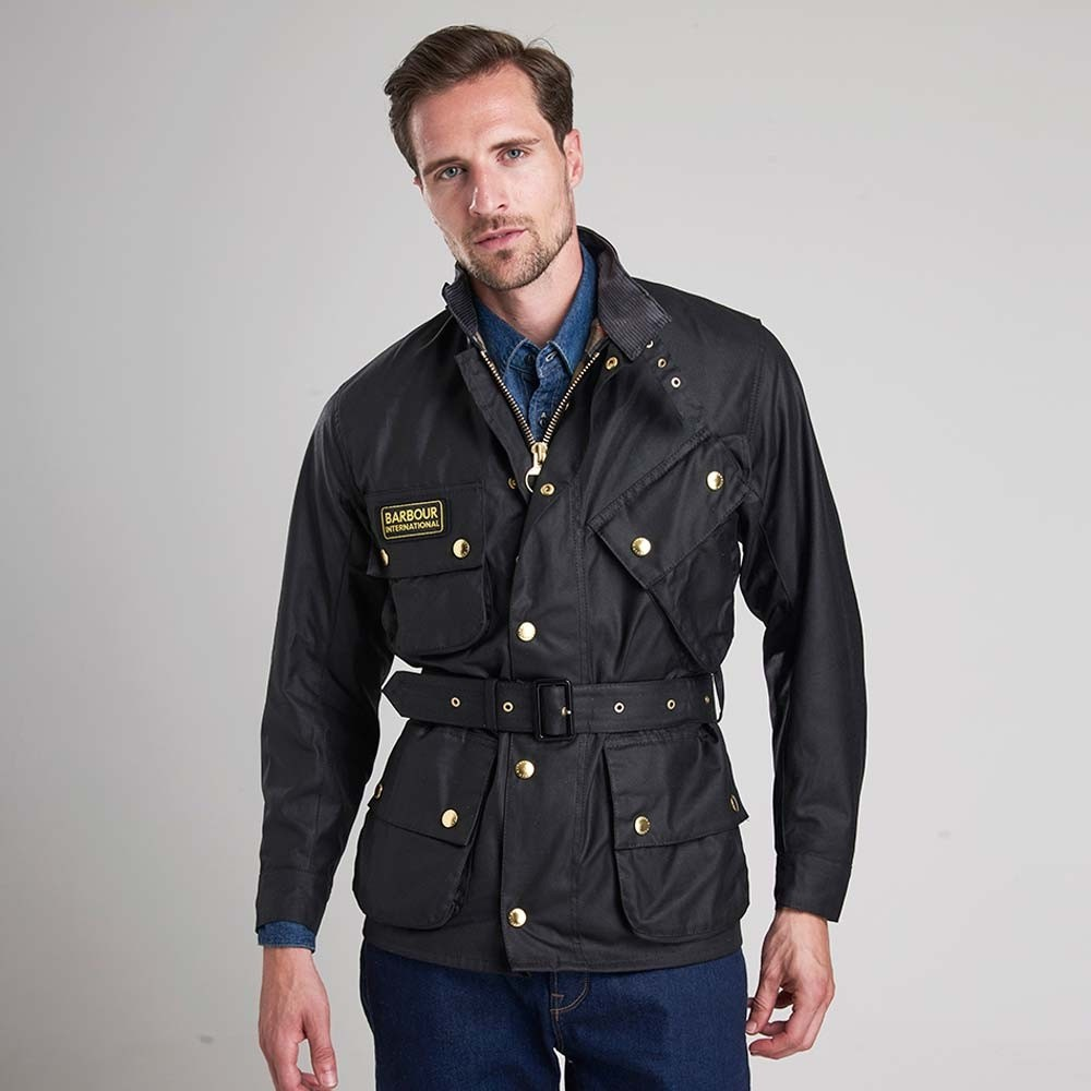 Barbour Wax Jacket Black
