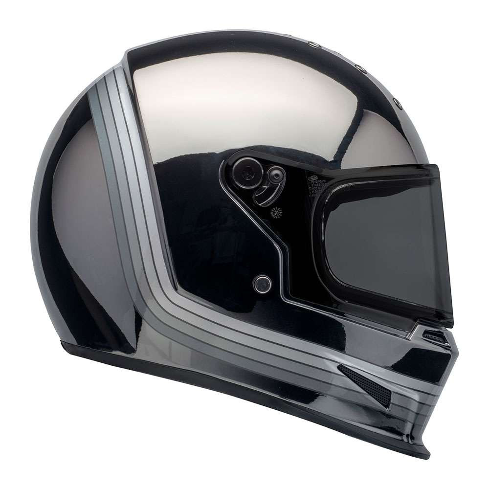 Bell Motorcycle Helmet >> Bell Eliminator Helmet Spectrum Chrome