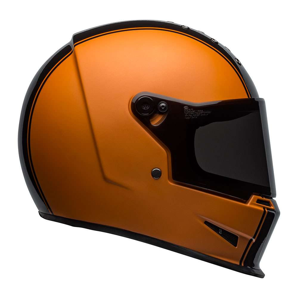 Bell Eliminator Helmet - Rally Black / Orange