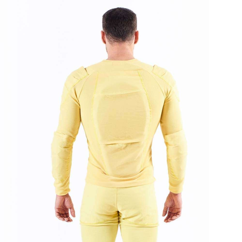 Bowtex Protective Unisex Zip Shirt - Yellow