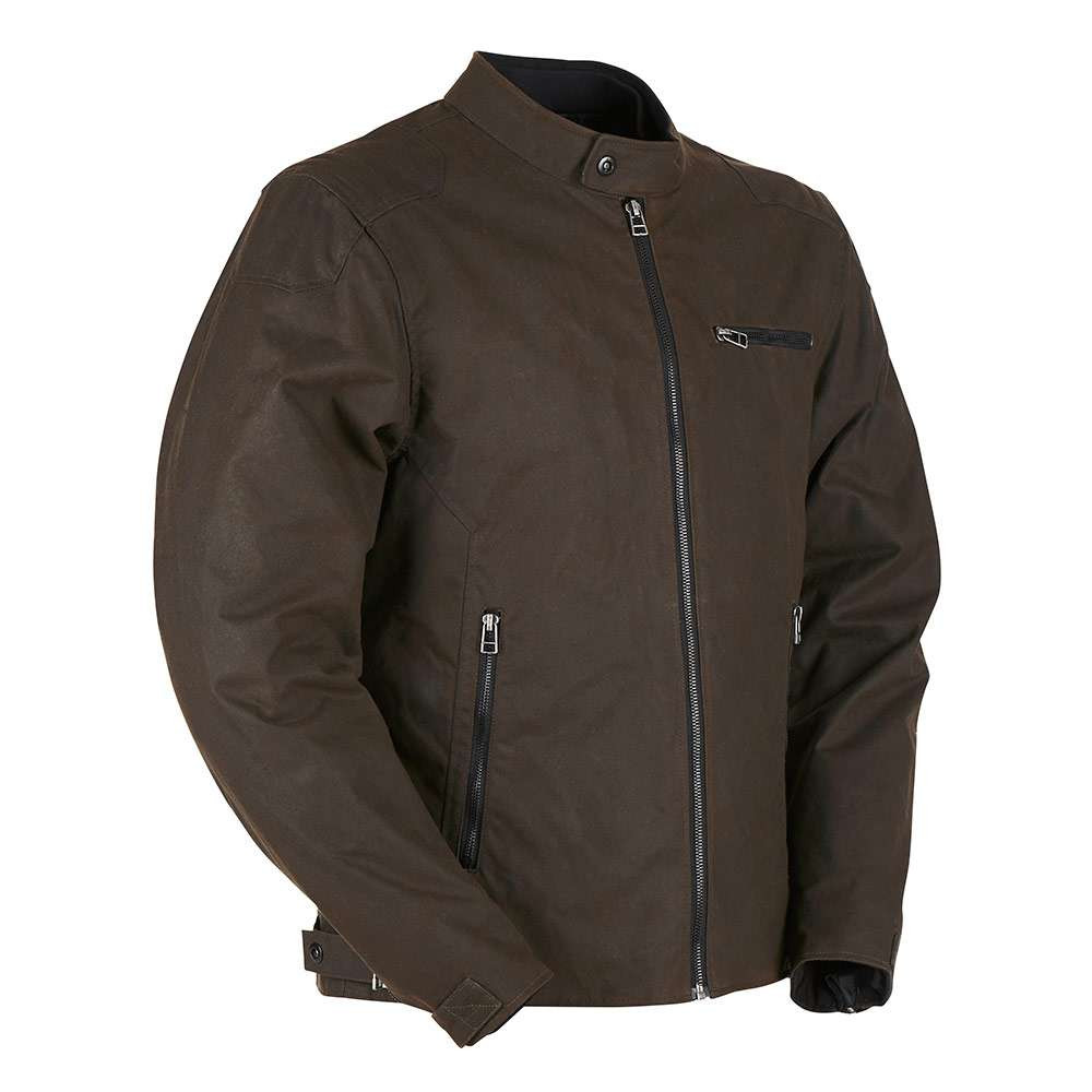 Furygan Bruce Wax Cotton Jacket - Brown