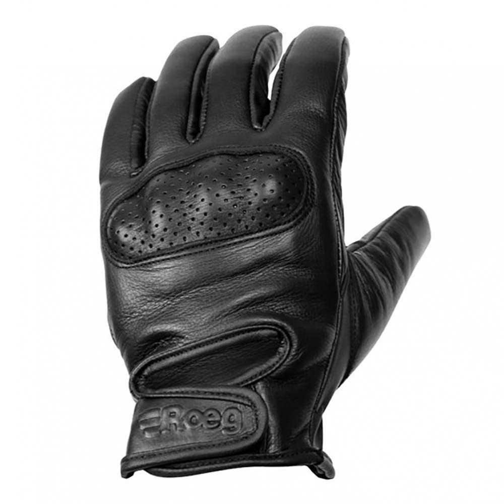 Roeg Butch Leather Gloves - Black