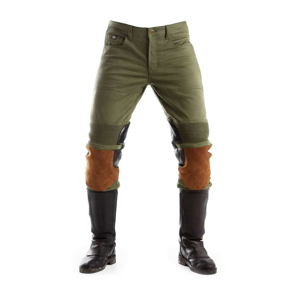 Fuel Motorcycles Captain Trousers - Olive
