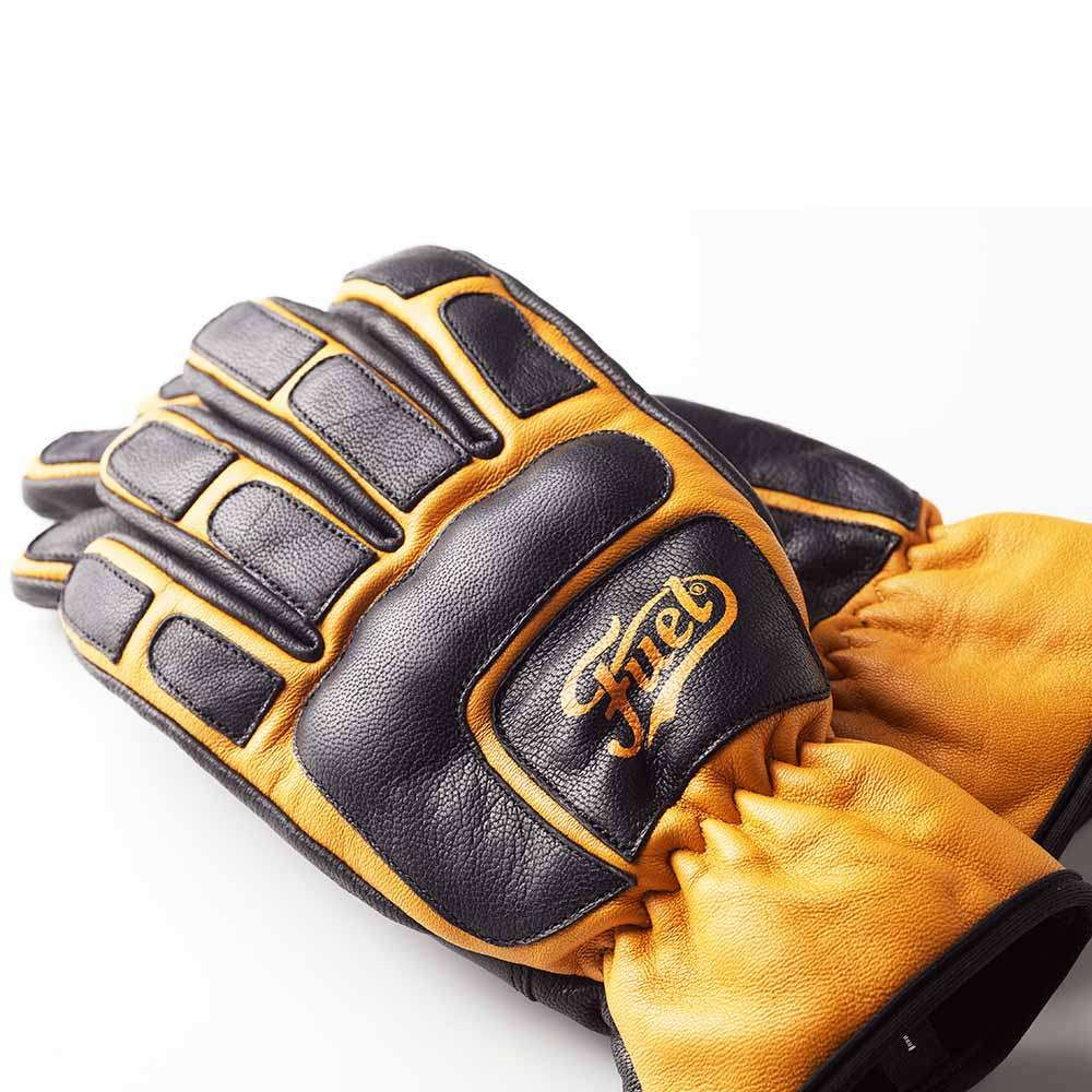 Fuel Motorcycles Moto X Gloves - Yellow / Black