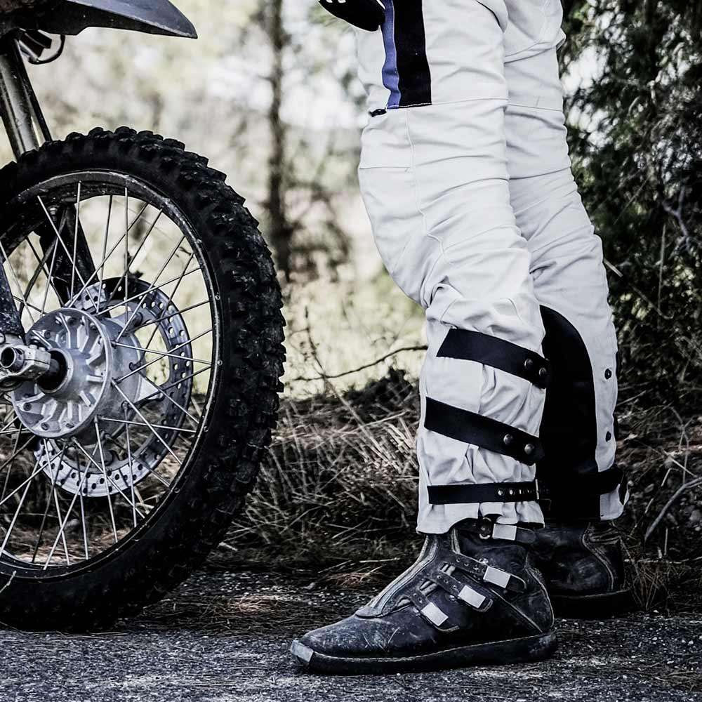 Fuel Motorcycles Rally Raid Trousers - White