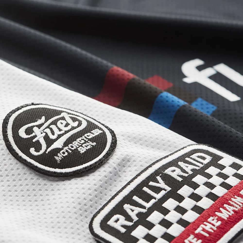 Fuel Motorcycles Rally Raid Jersey - Blue