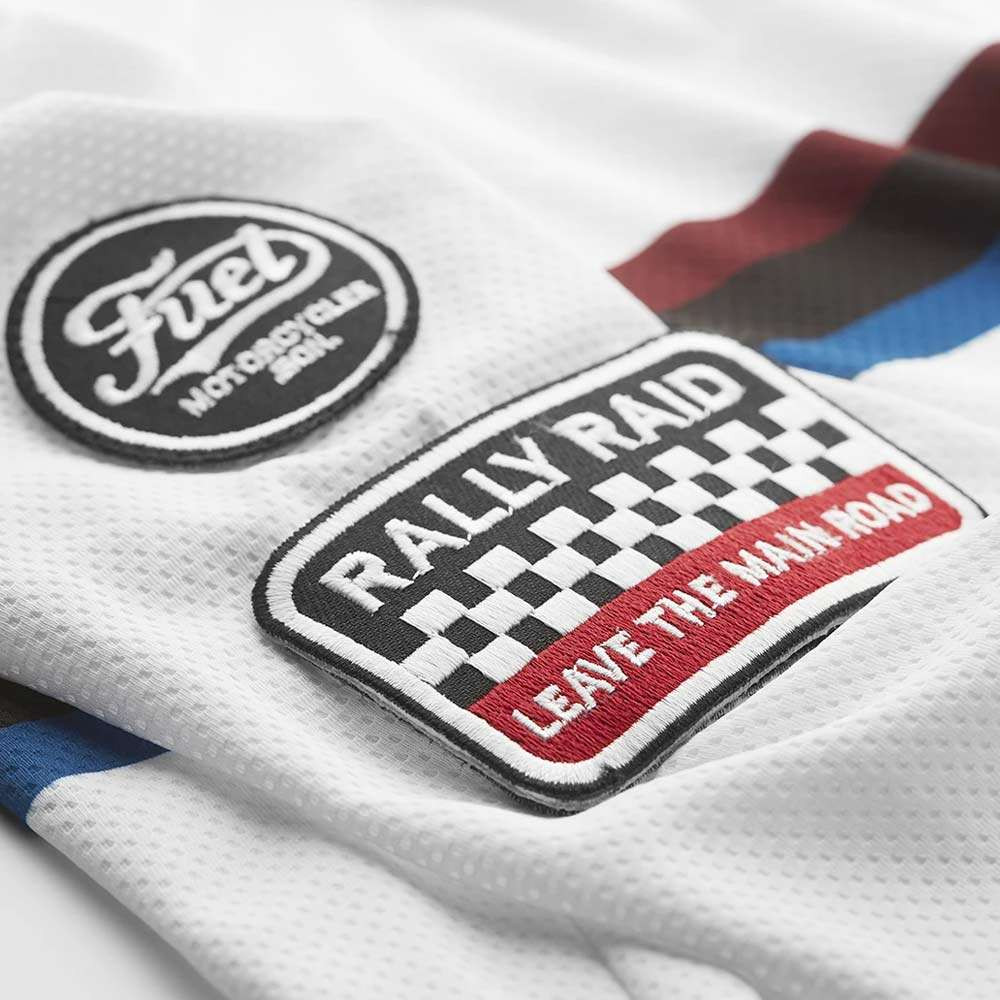 Fuel Motorcycles Rally Raid Jersey - White