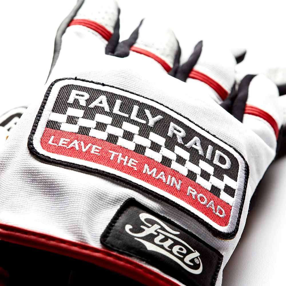 Fuel Motorcycles Rally Raid Gloves - Patch