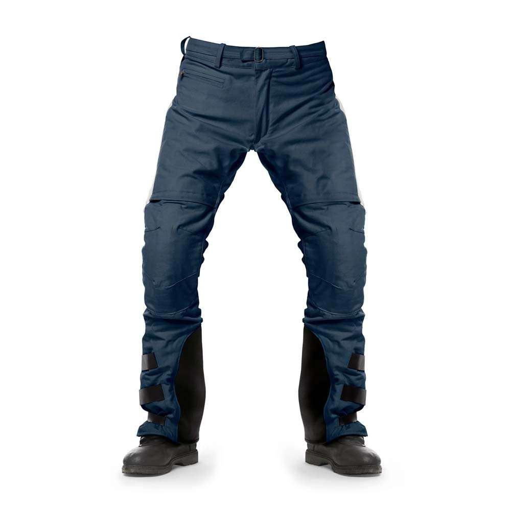 Fuel Motorcycles Rally Raid Trousers - Blue