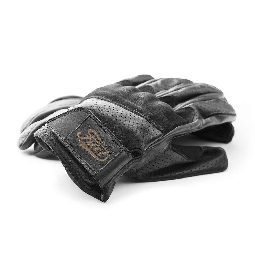 Fuel Motorcycles Rodeo Gloves - Black