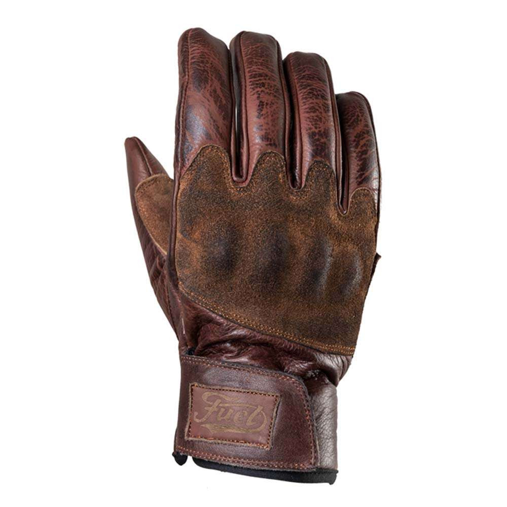 Fuel Motorcycles Rodeo Gloves - Brown