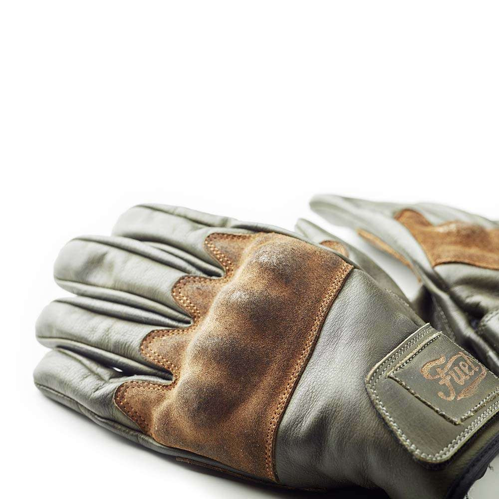 Fuel Motorcycles Rodeo Gloves - Olive