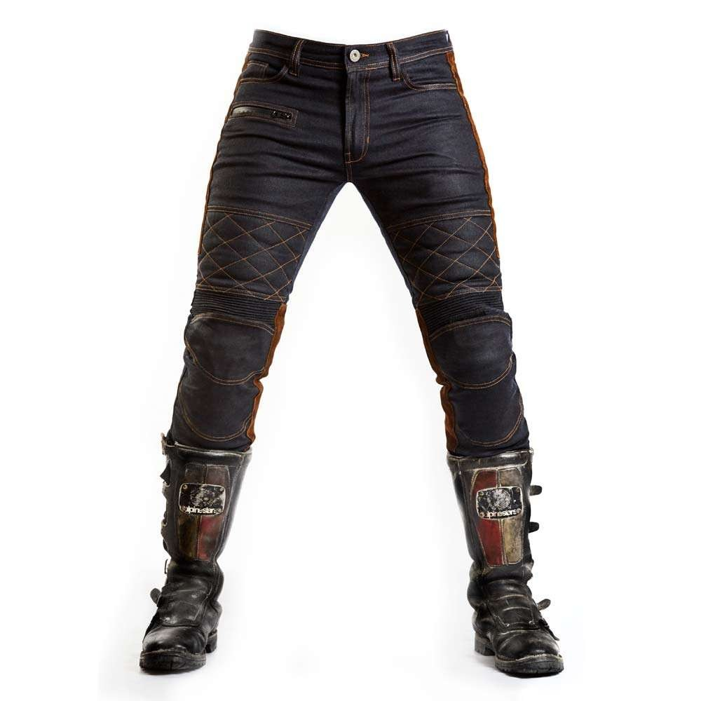 Fuel Motorcycles Sergeant Trousers - Waxed