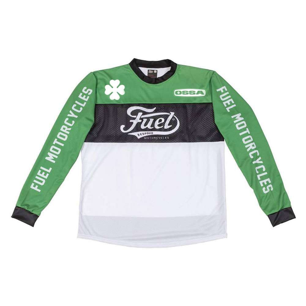 Fuel Motorcycles Turn Left Enduro Jersey