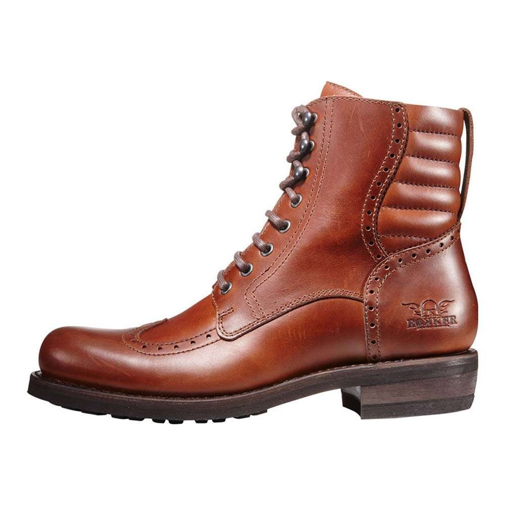 Rokker Gentleman Racer Boots - Brown