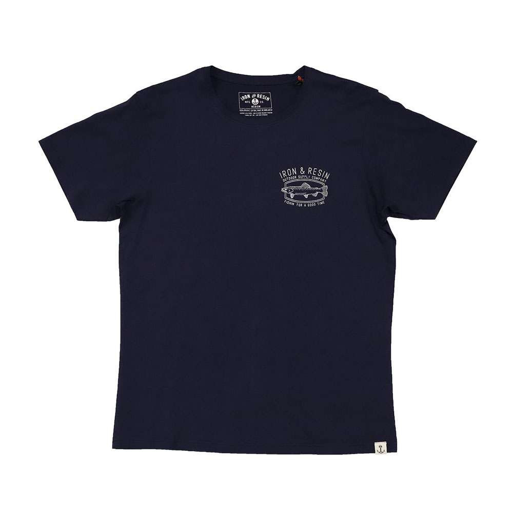 Iron and Resin Good Times T Shirt - Navy